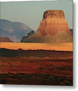 Tower Butte At Sunset, Glen Canyon Metal Print