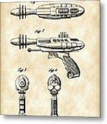 Toy Ray Gun Patent 1952 - Vintage Metal Print