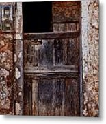 Traditional Door Metal Print
