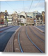 Transport Infrastructure In Amsterdam Metal Print