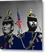 Troopers Indian Wars Memorial Encampment Ft. Lowell Tucson Arizona 1970-2008 Metal Print