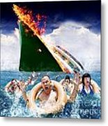 Trouble In Paradise Metal Print