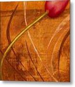 Tulips Are People Xi Metal Print