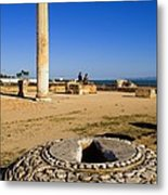 Tunisia. Carthage. The Baths Metal Print