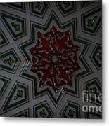Turkish Tile Design Metal Print