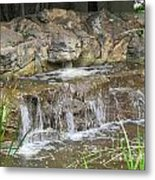 Turtle Head Falls  Metal Print