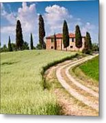Tuscan Classic Metal Print