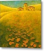 Tuscan Gold 2 Metal Print
