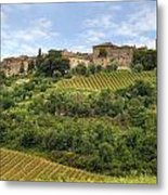 Tuscany - Castelnuovo Dell'abate Metal Print