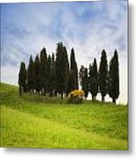 Tuscany - Montalcino Metal Print