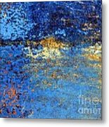 Twilight Reflections By The Lake Metal Print