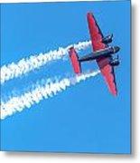 Twin Engine Plane  Metal Print