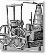 Twin-screw Steamer, 1878 Metal Print