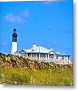 Tybee Lighthouse Metal Print