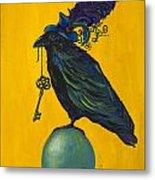 Uncommon Raven Love 2 Metal Print