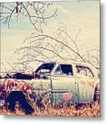 Under The Seat  Metal Print