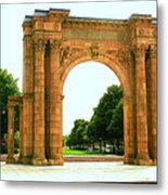 Union Station Arch Metal Print