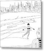 New Yorker February 14th, 2005 Metal Print
