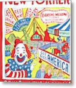 New Yorker September 24th, 2012 Metal Print