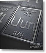 Ununnilium Chemical Element Metal Print