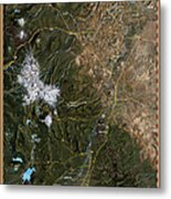 Upper Deschutes River Metal Print by Pete Chadwell