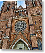 Uppsala Cathedral - Sweden Metal Print