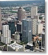 Uptown District Metal Print