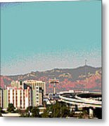Urban West Metal Print