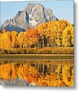 Usa, Grand Teton National Park Wyoming Metal Print