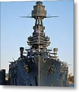 Uss Texas Bow Metal Print