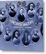 Vancouver Amazons Women's Hockey Team 1921 Metal Print