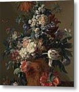 Vase Of Flowers Metal Print