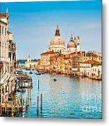 Venice At Sunset Metal Print