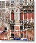 Venice Unseen Metal Print
