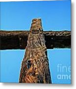 Ventura Cross Metal Print
