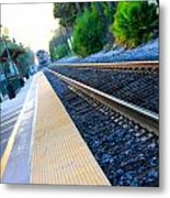 Ventura Train Station Metal Print