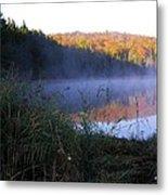 Vermont Pond Metal Print