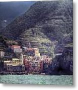 Vernazza Metal Print by Joana Kruse