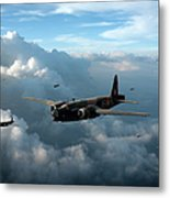 Vickers Wellingtons With 16 Otu Metal Print