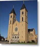 Victoria Kansas - Cathedral Of The Plains Metal Print