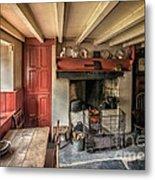 Victorian Cottage Metal Print