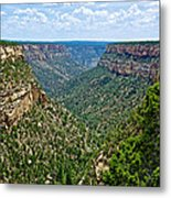 View From Sun Temple In Mesa Verde National Park-colorado  Metal Print