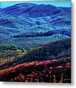 View From Table Rock Mountain Metal Print