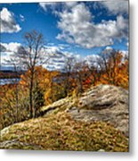 View From The Eagle Bay Rocks Metal Print