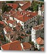 View Of Kotor Town In Montenegro Metal Print