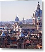 View Of Rome 2013 Metal Print