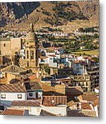 View Of The Town Loja In Granada Province Metal Print