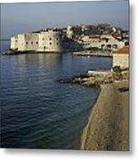 Views Of Dubrovnik Old Town Croatia Metal Print