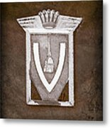Vignale Emblem Metal Print
