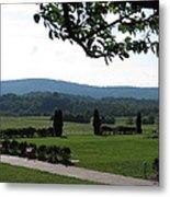 Vineyards In Va - 12123 Metal Print